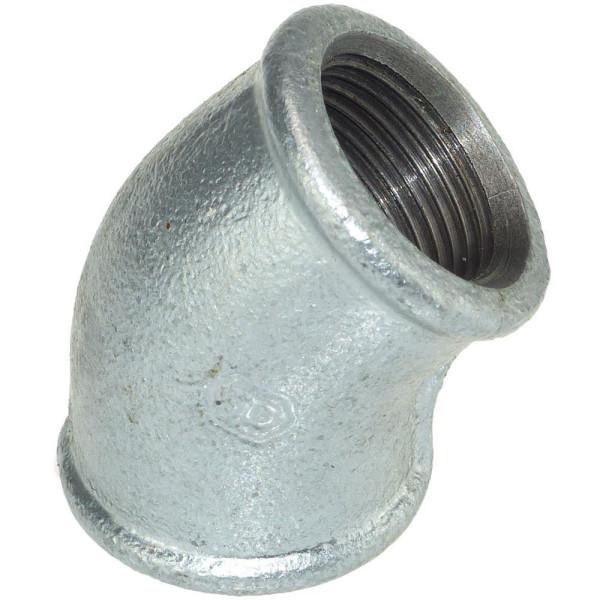 Temperguß Verzinkt Stahl Rohrnippel Doppelnippel in Verschiedenen Größen