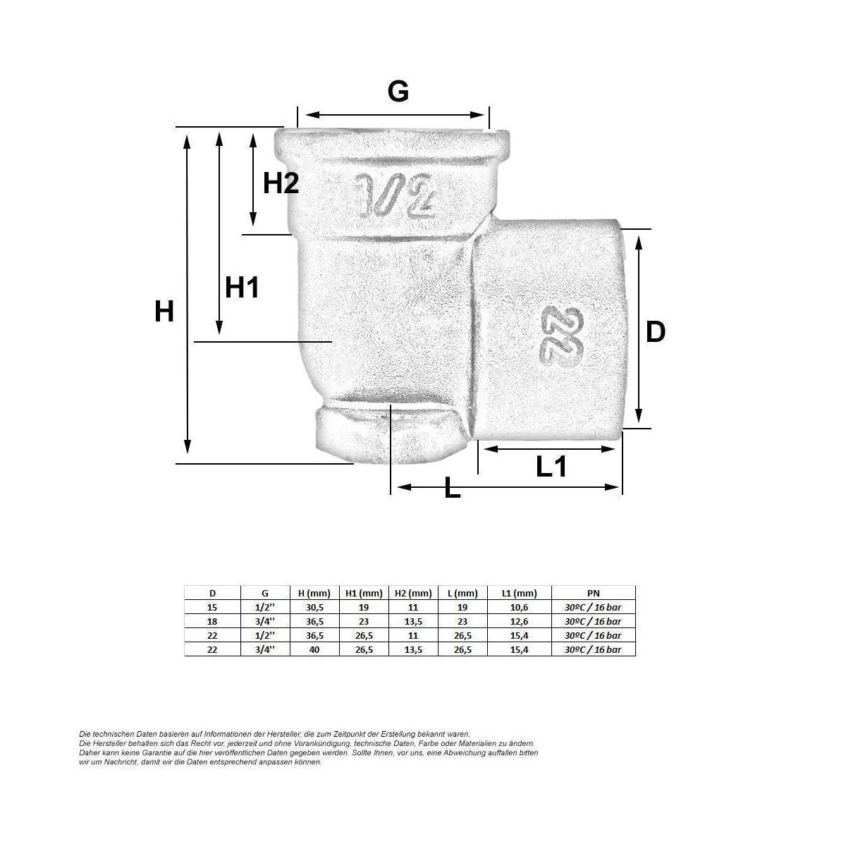 l tfitting wandscheibe 15 mm x 1 2 zoll 1 70 eu. Black Bedroom Furniture Sets. Home Design Ideas