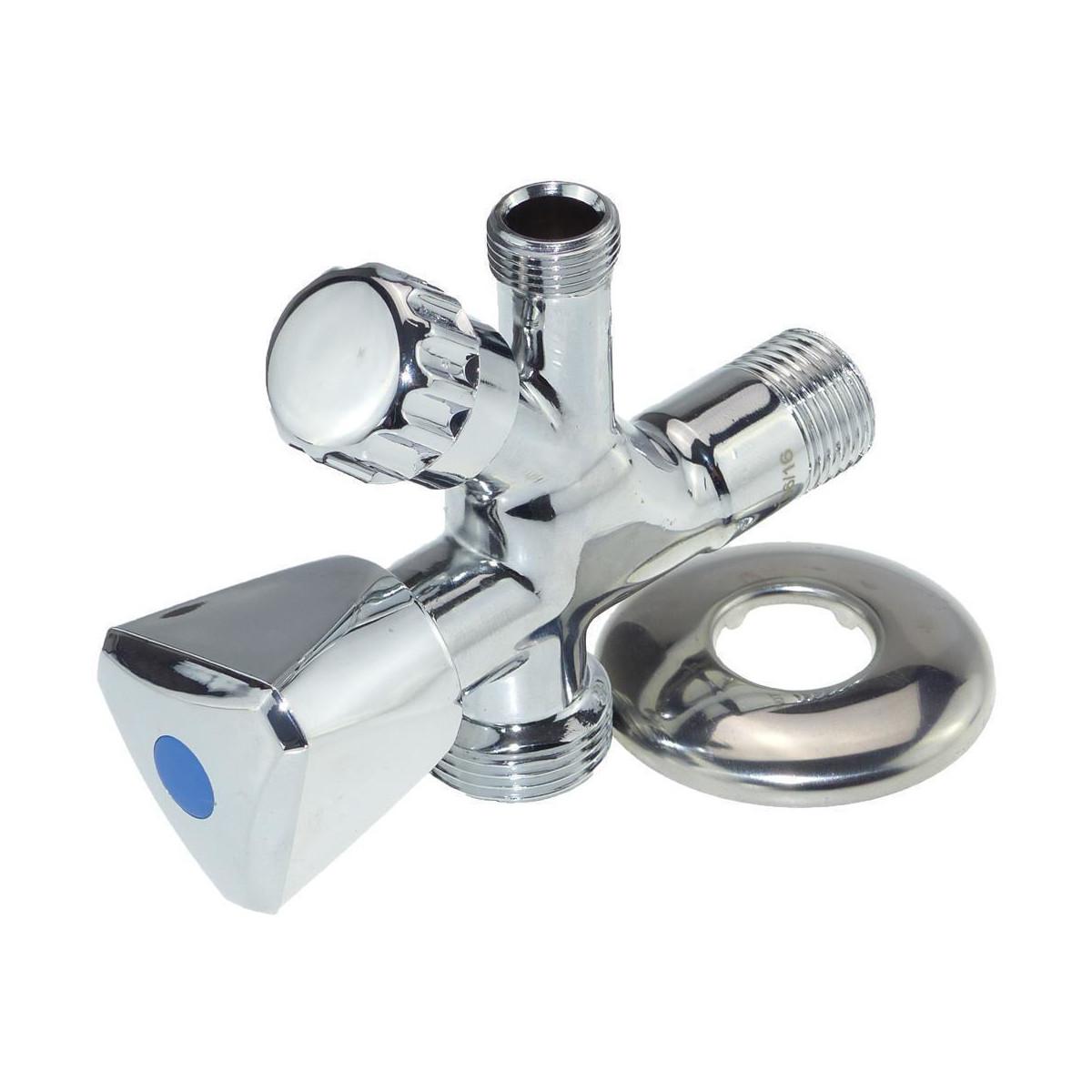 MT Business Key Eckventil 1/2 x 3/4 Zoll Kombi-Eckventil