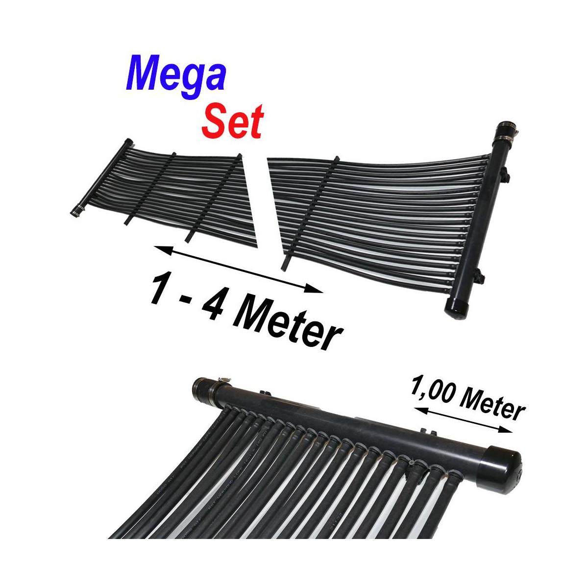 RST-VERSAND (Eigenmarke) Poolheizung Solarmatte MegaSet 3,60 m² (120 Meter)