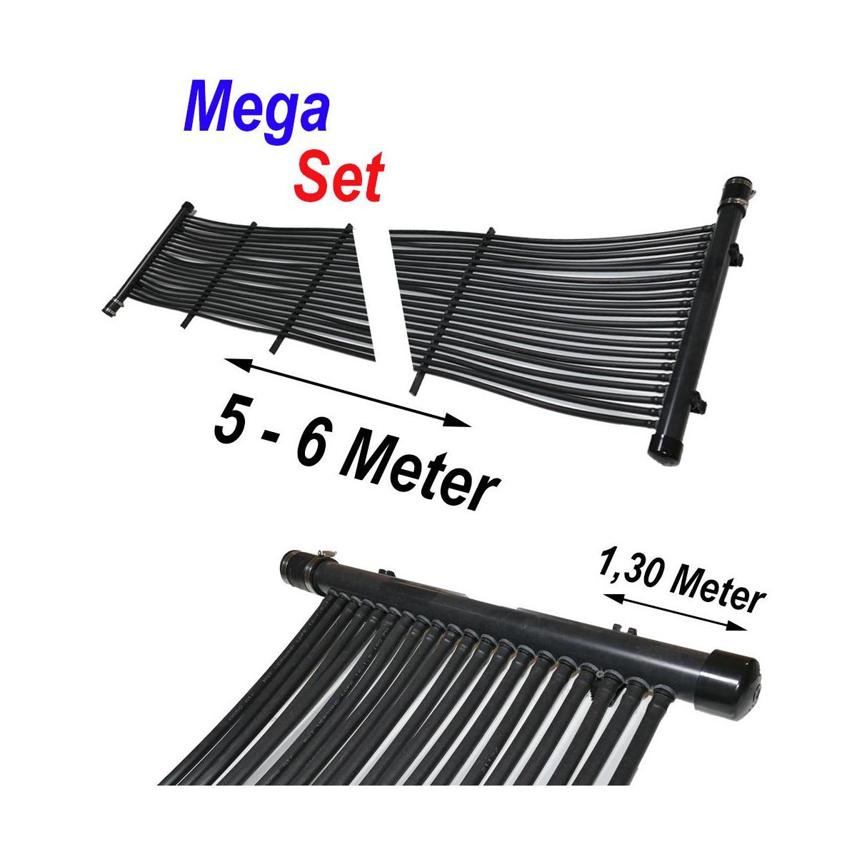 RST-VERSAND (Eigenmarke) Poolheizung Solarmatte MegaSet 7,20 m² (240 Meter)