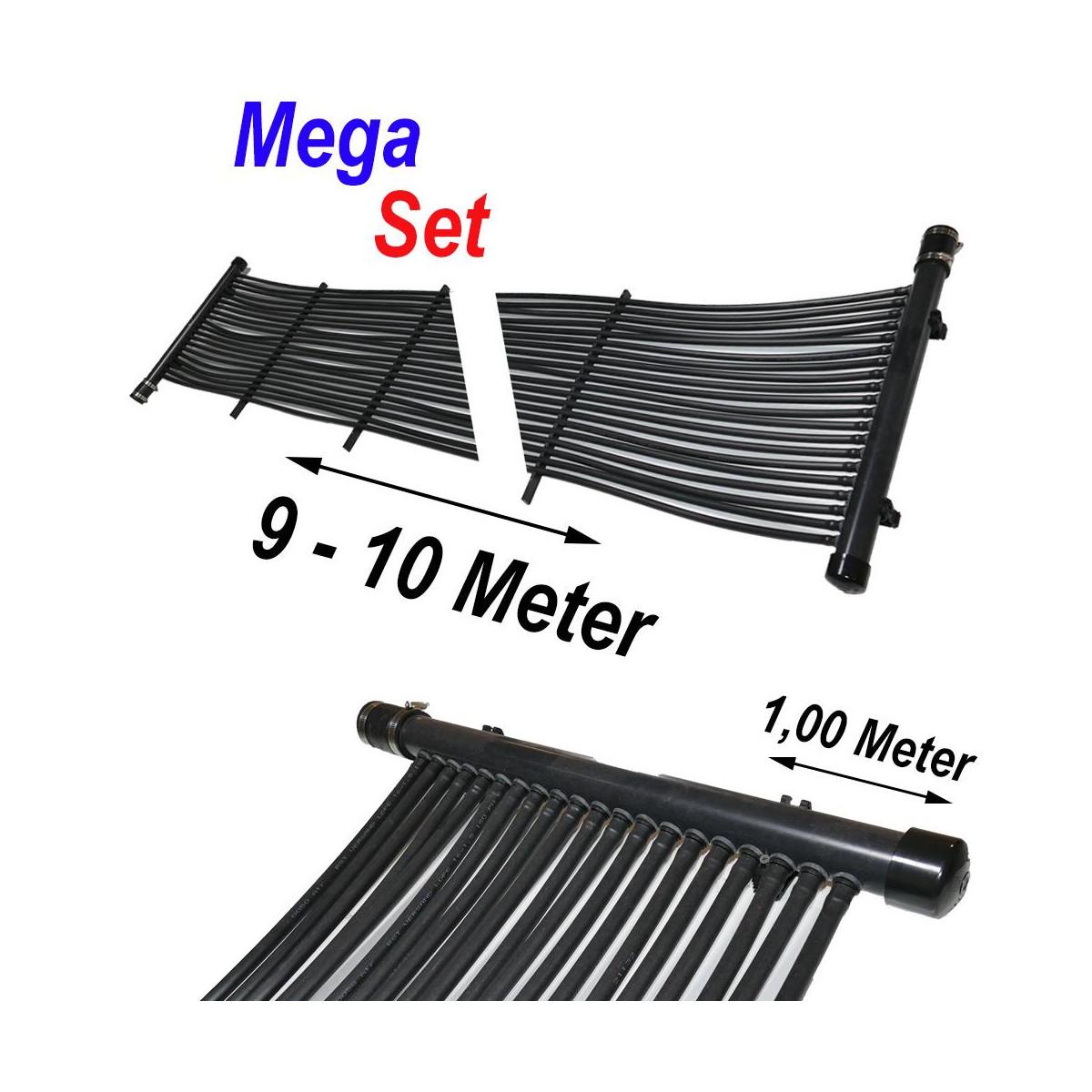 RST-VERSAND (Eigenmarke) Poolheizung Solarmatte MegaSet 9,00 m² (300 Meter)