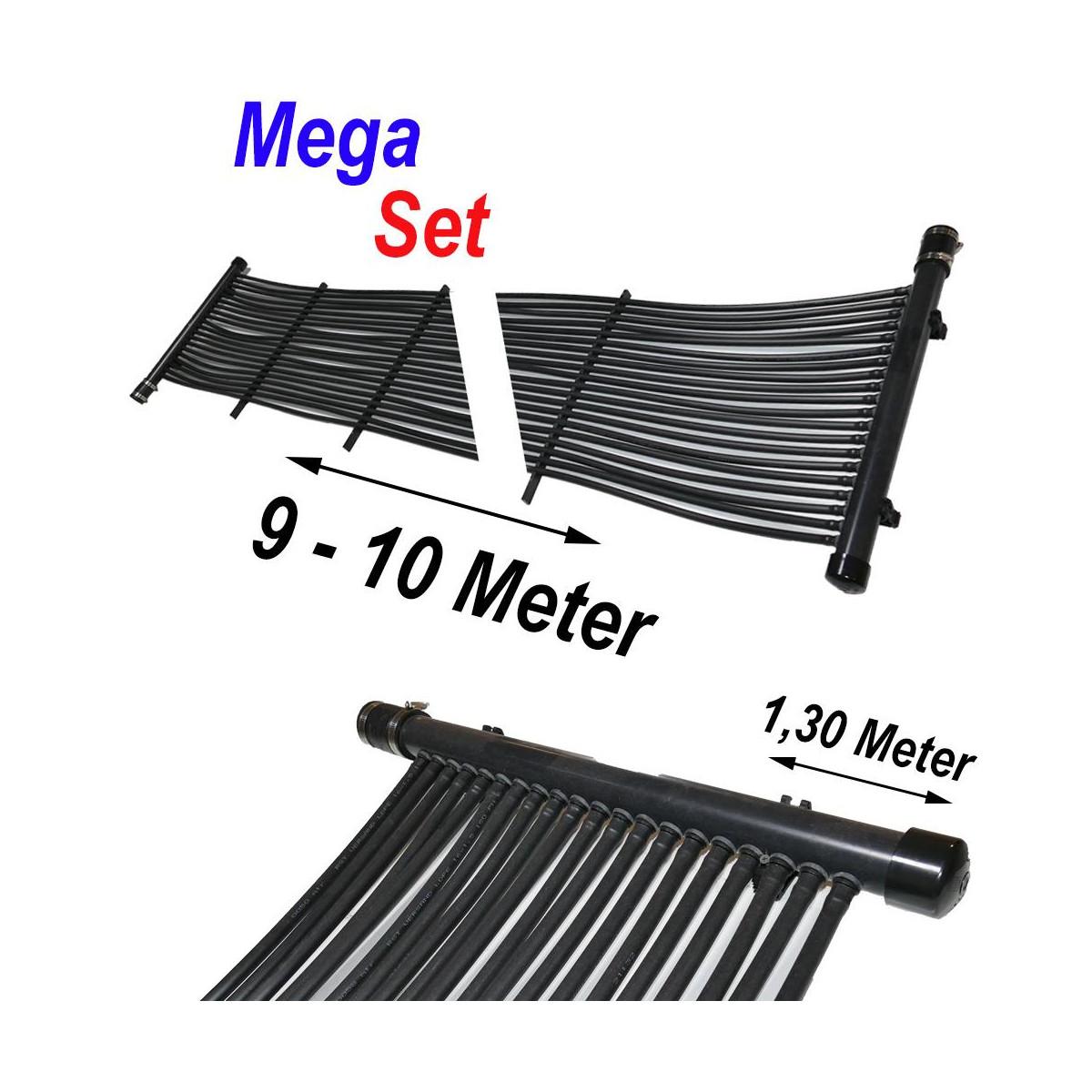RST-VERSAND (Eigenmarke) Poolheizung Solarmatte MegaSet 12,00 m² (400 Meter)