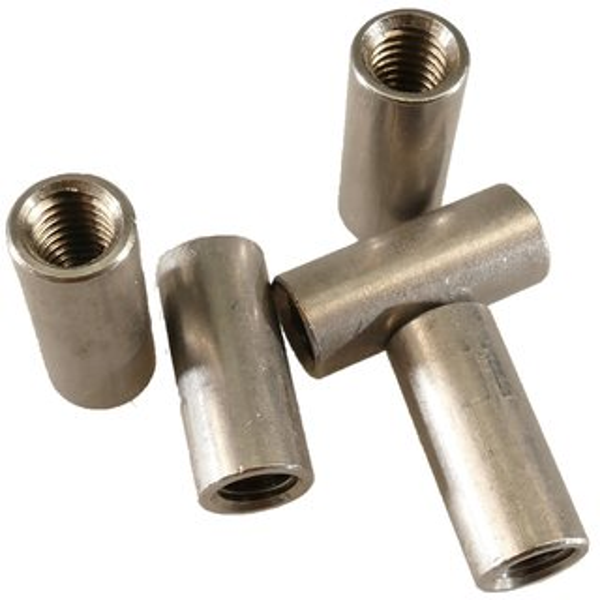 Gewindemuffe Sechskant Verbindungsmutter Langmutter Distanzmutter Edelstahl V2A A2 M8 x 20mm x 2 St/ück