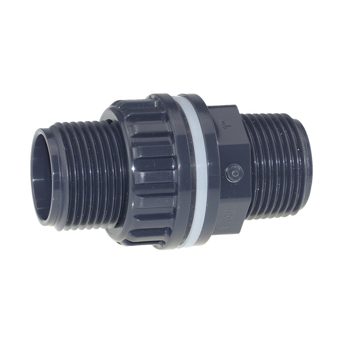 Plimat / VDL PVC Durchführung 1 Zoll (25mm)
