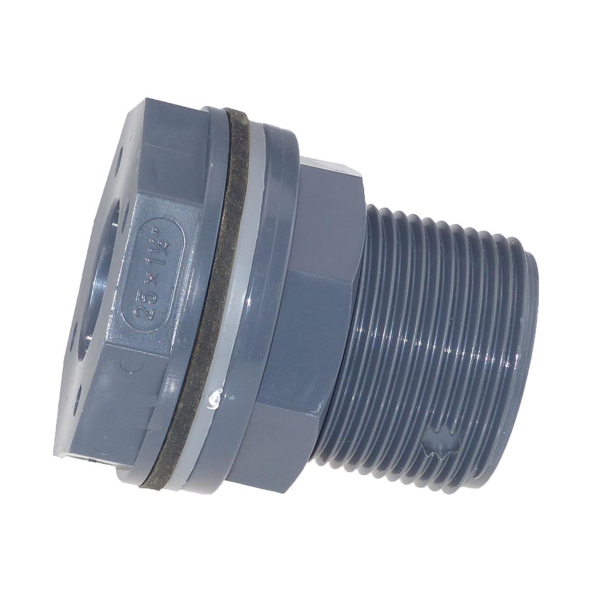 Plimat / VDL PVC Tankverschraubung 25 mm