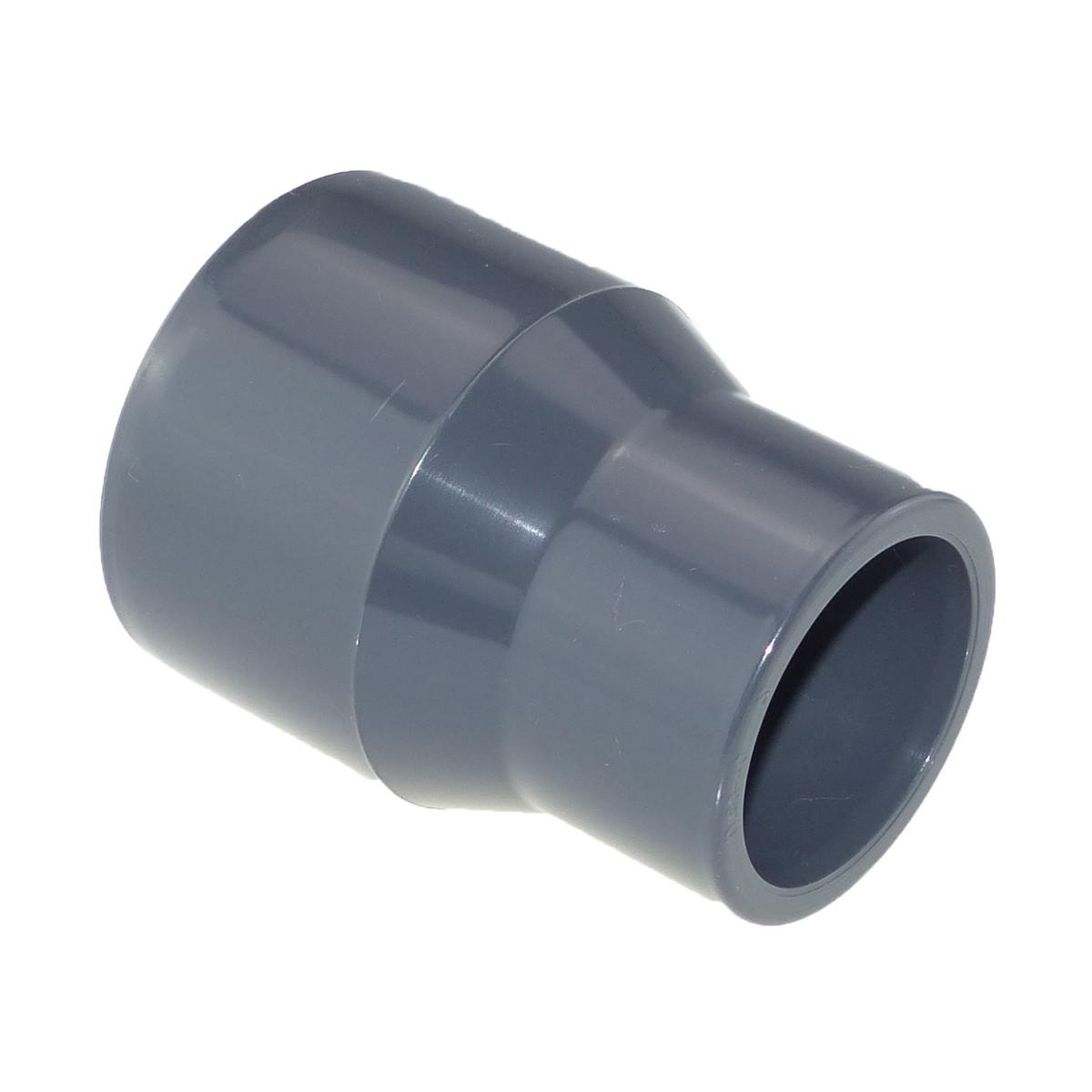 Cepex/Plimat/CH PVC Muffe reduziert 63 / 50 x 25 mm