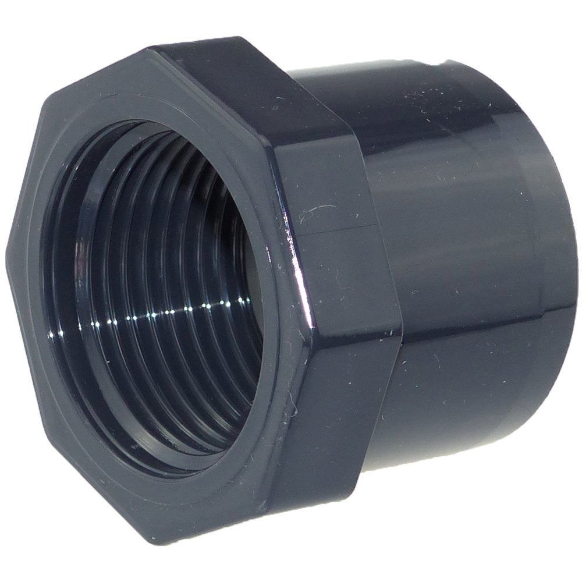 Cepex/Plimat/CH PVC Reduzierstutzen 40 mm x 1/2 Zoll