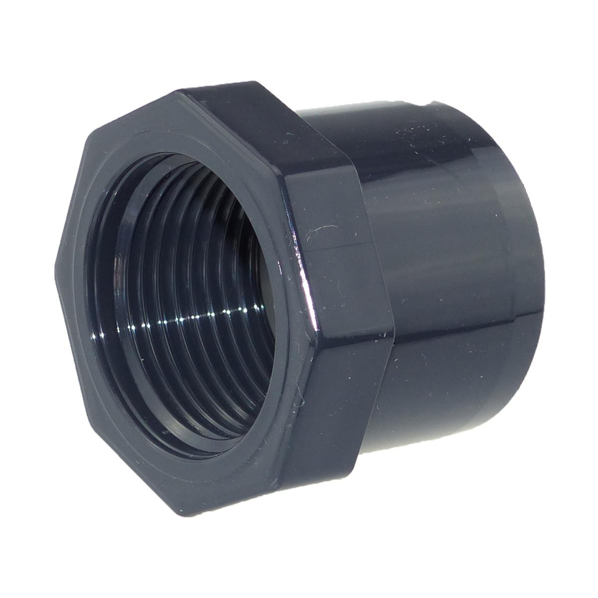 Cepex/Plimat/CH PVC Reduzierstutzen 40 mm x 3/4 Zoll