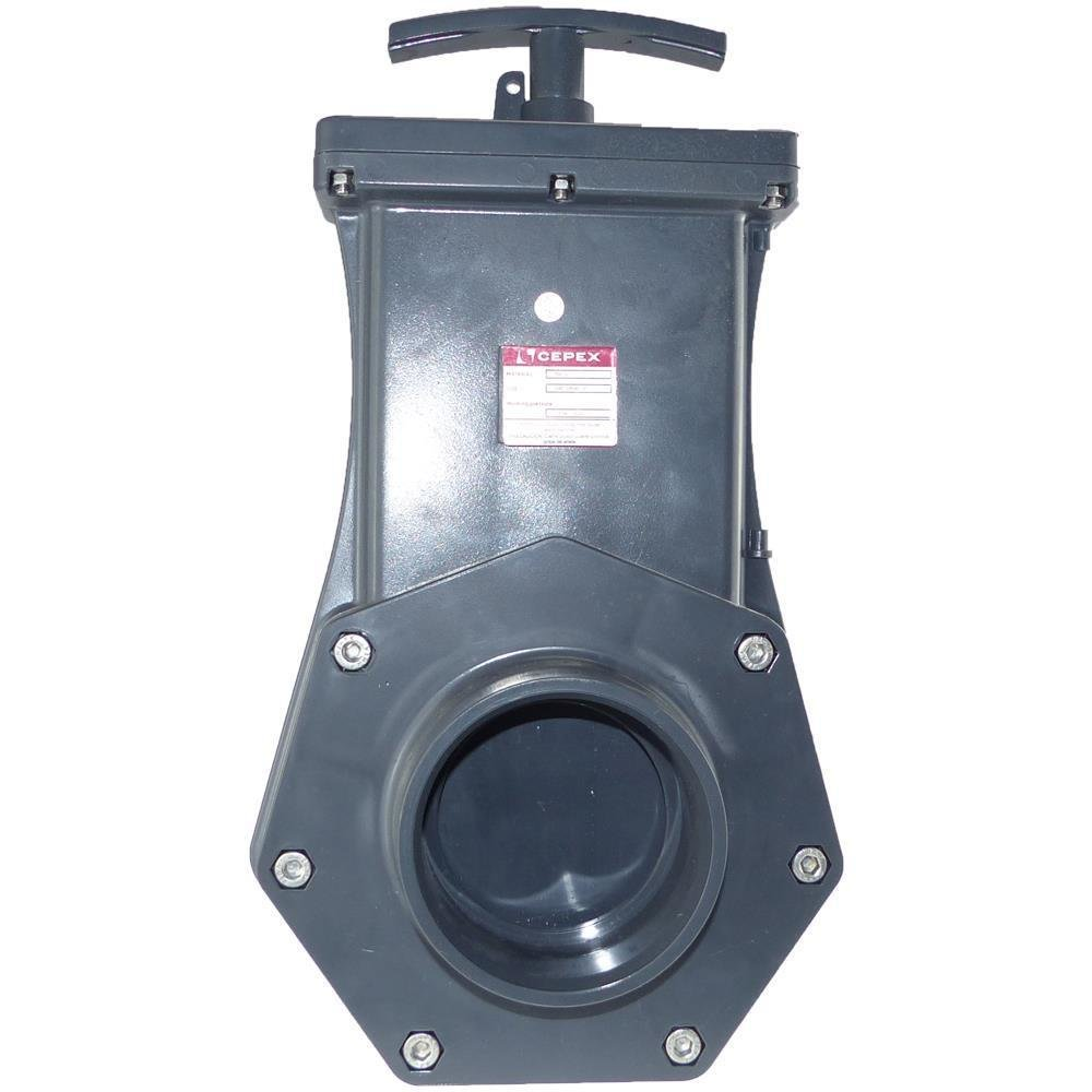PVC Zugschieber Cepex 90 mm