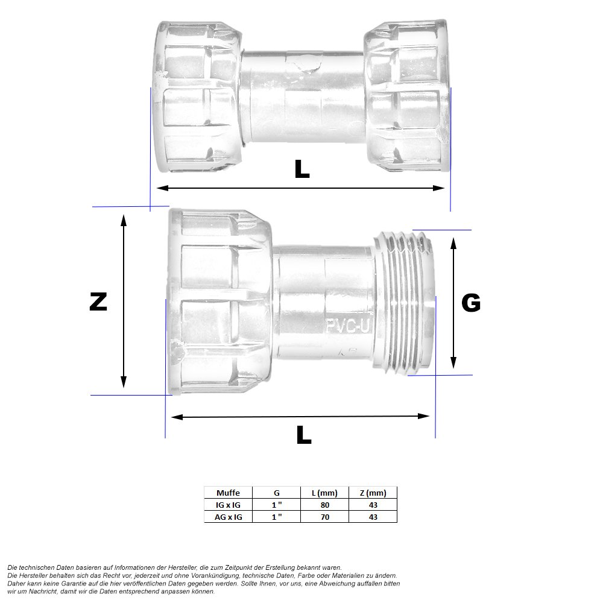 pvc pe rohr verteiler muffe 2 16. Black Bedroom Furniture Sets. Home Design Ideas