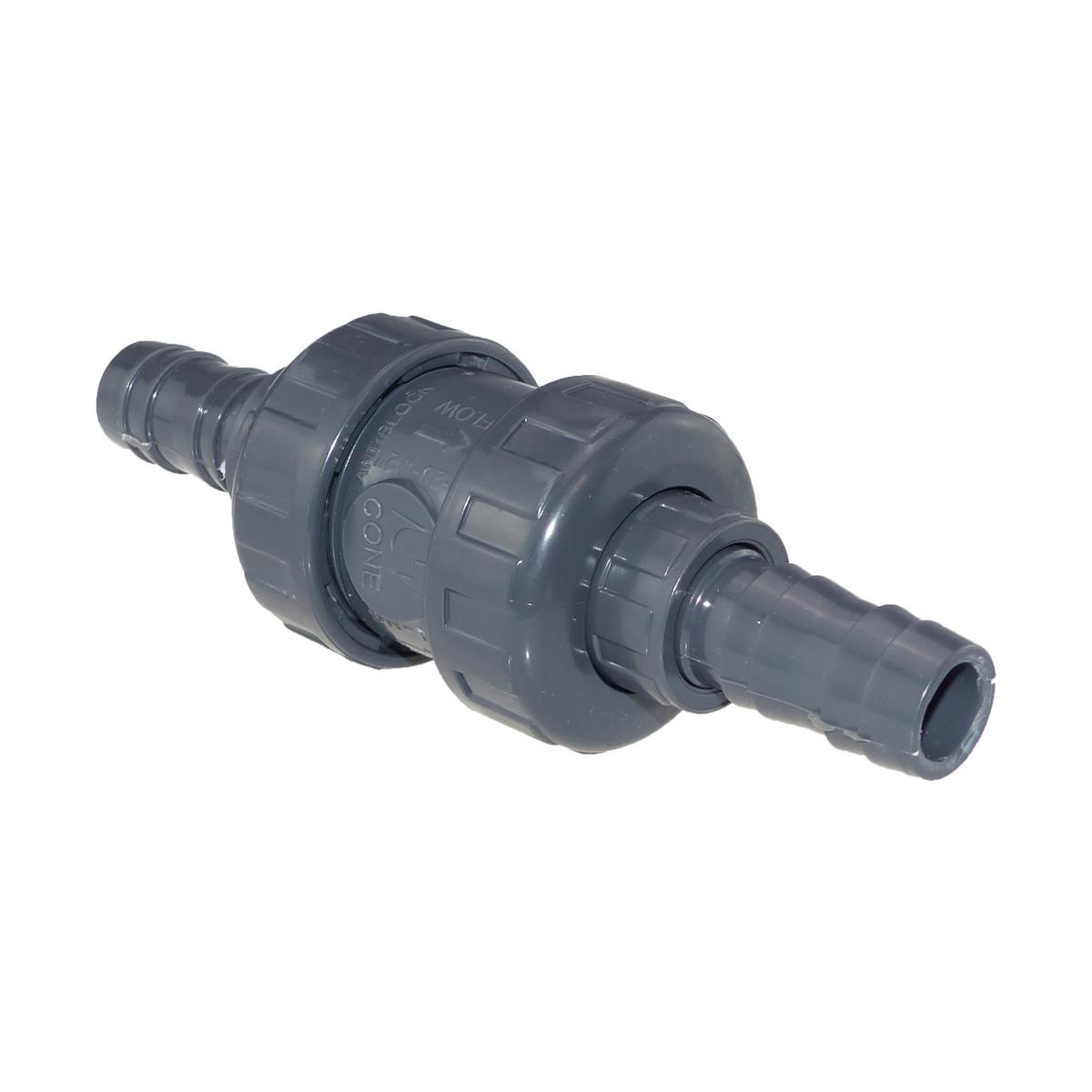 Cepex PVC Rückschlagventil Schlauchtülle 63 mm