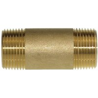 Messing Rohrnippel